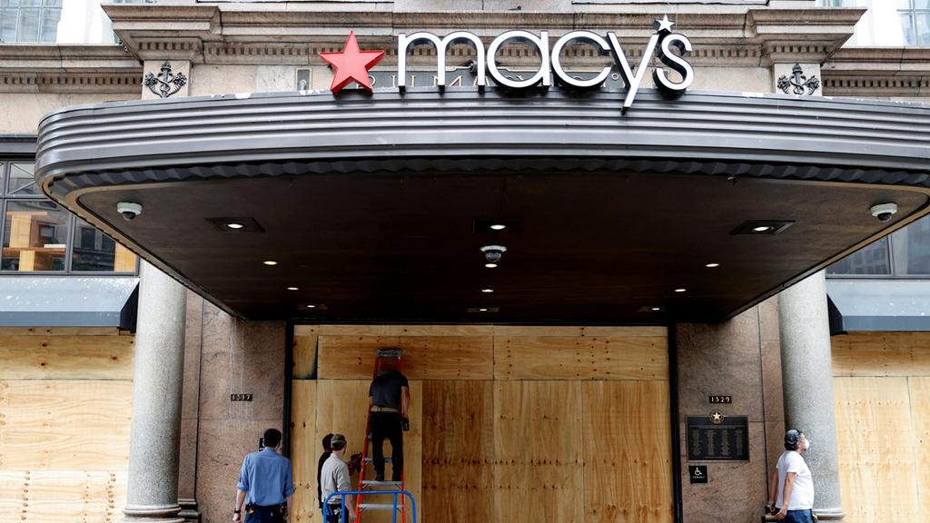 חנות מייסיס ניו יורק סגורה מהומות ביזה הפגנות ג'ורג' פלויד