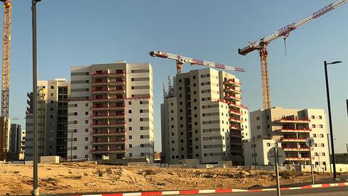 פרויקט בנייה, צילום: טל גואלמן