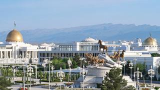 אשגבאט Ashgabat בירת טורקמניסטן, צילום: Flickr/John Pavelka