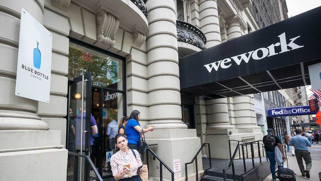 לפני ההנפקה: WeWork מדווחת על הפסד של 2.1 מיליארד דולר