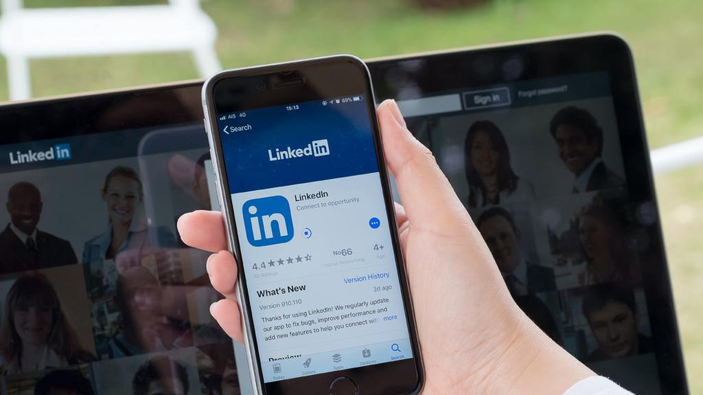 לינקדאין Linkedin רשת חברתית  רשתות חברתיות