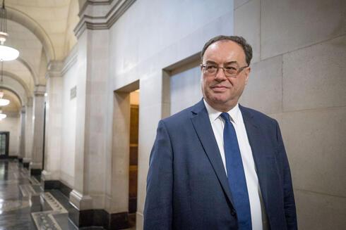אנדרו ביילי מושל הבנק של אנגליה, צילום: בלומברג