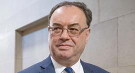 אנדרו ביילי נגיד הבנק המרכזי של אנגליה בריטניה