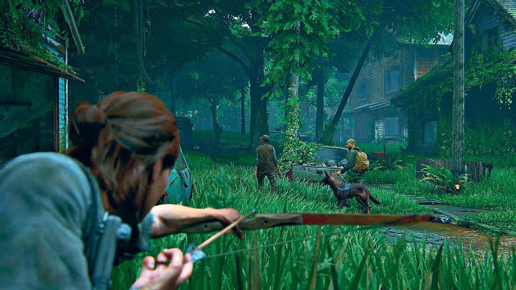 פנאי משחק פלייסטיישן The Last of Us II