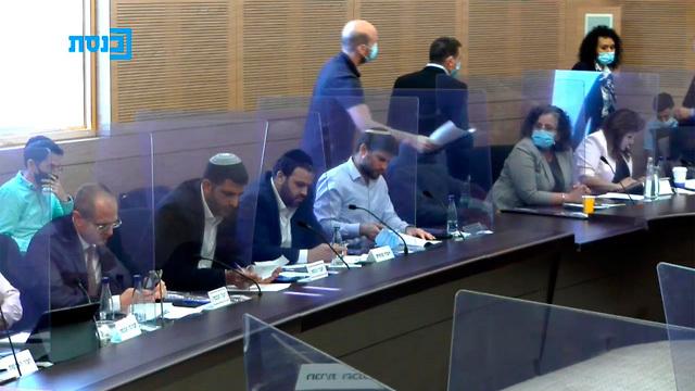 דיון בוועדת הכספים, צילום: ערוץ הכנסת