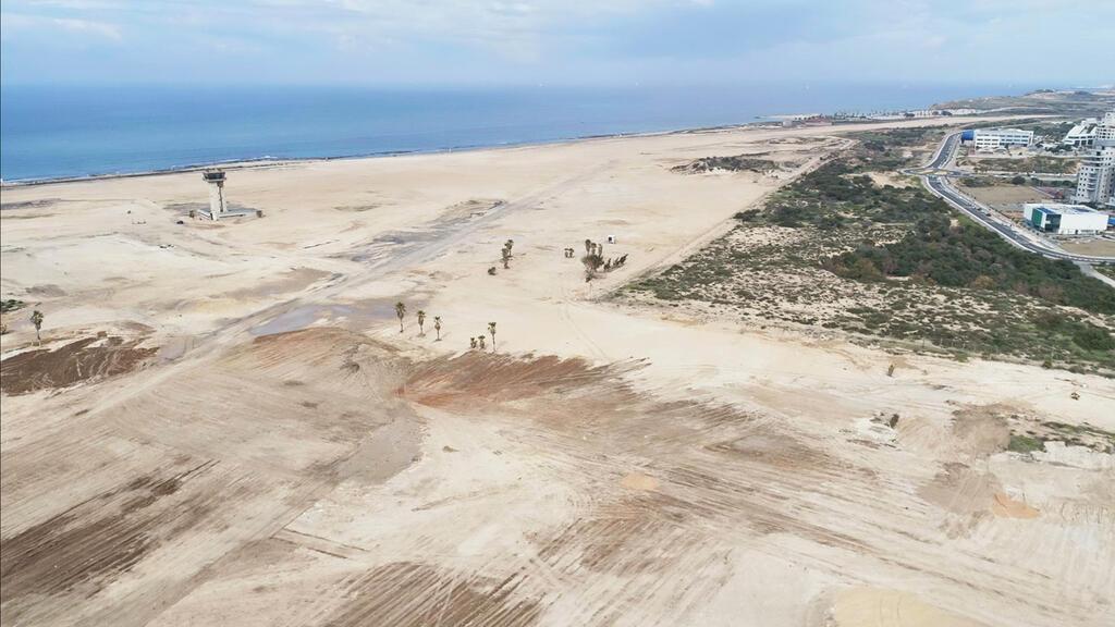 מתחם תעופה שדה דב לאחר פינוי והריסת שדה התעופה