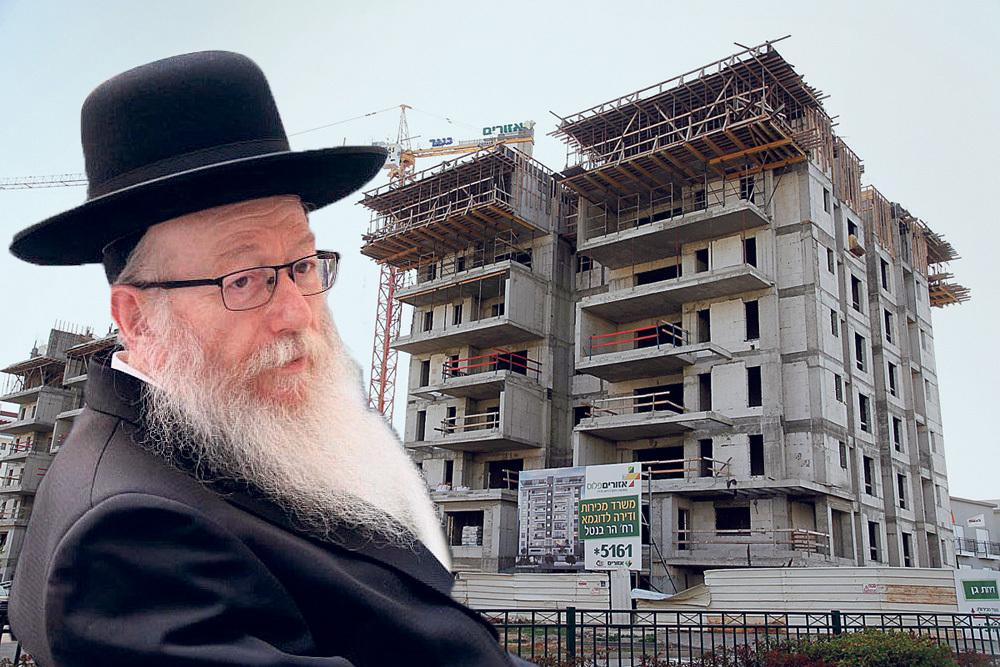יעקב ליצמן תכנית בנייה
