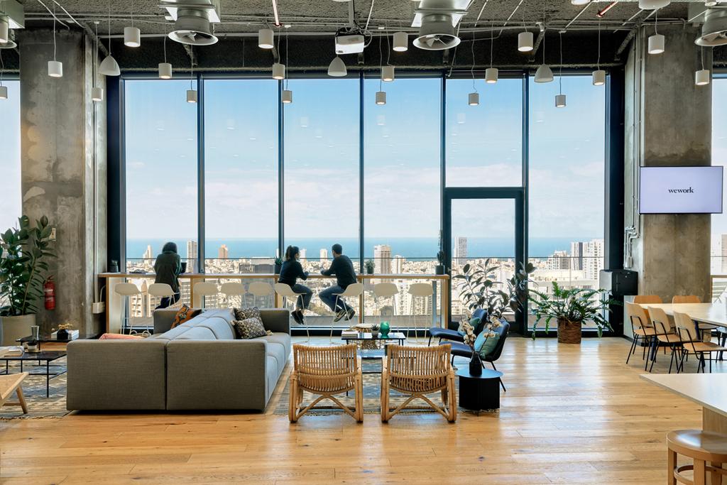 משרדי WeWork  מידטאון תל אביב