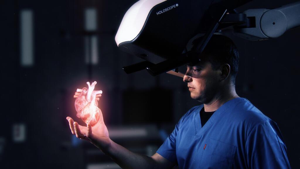 מציאות מדומה הולוגרמה רילוויו אימג'ינג RealView Imaging
