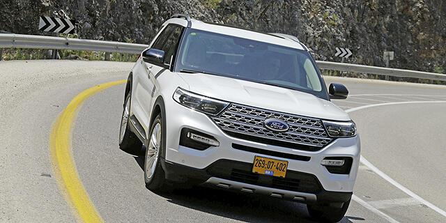מבחן רכב פורד אקספלורר 2020