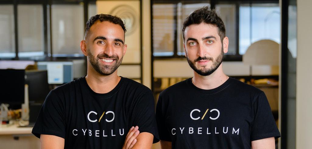 מייסדי Cybellum מימין סלבה ברונפמן מיכאל אנגסטלר
