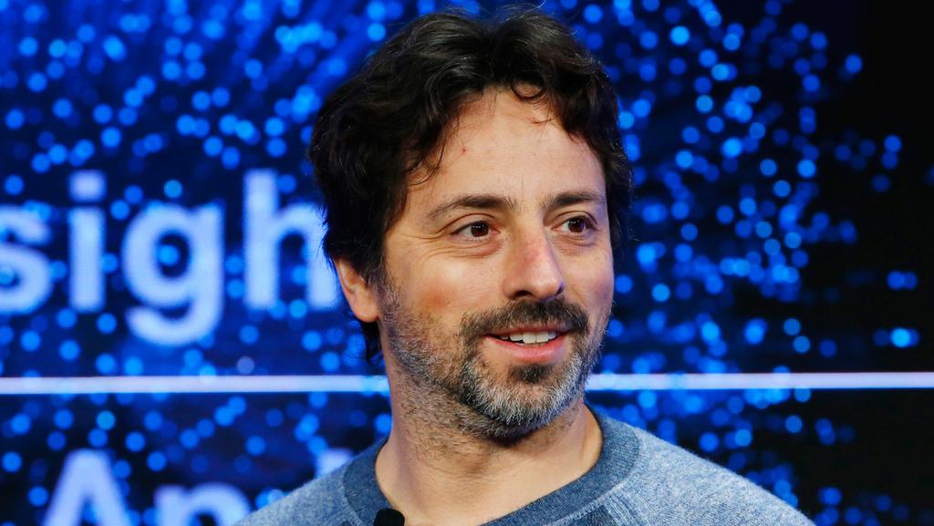 מייסד גוגל סרגיי ברין פורום דאבוס 2017