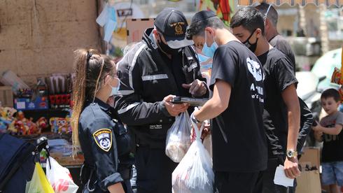 ככה נלחמים בקורונה? ביולי ניתנו רק 535 קנסות על אי עטיית מסכה