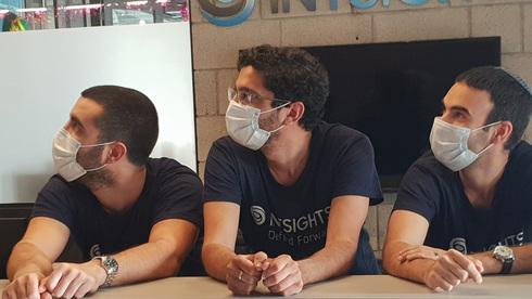 אלון ארבץ, גיא ניצן וגל בן דוד, צילום: אינטסייטס
