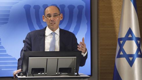 אמיר ירון נגיד בנק ישראל , צילום: בלומברג