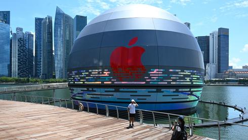 החנות של אפל בסינגפור, צילום: גטי אימג