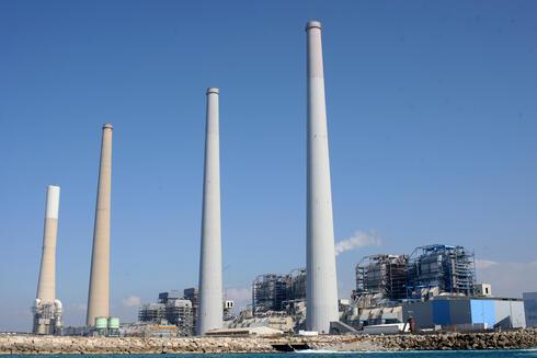 תחנת כוח ארובות חדרה אורות רבין, צילום: עמית שעל