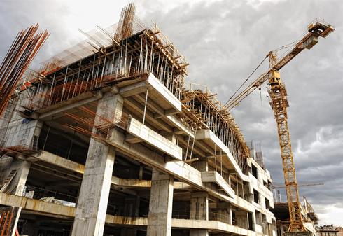 פרויקט בבנייה, צילום: אוראל כהן