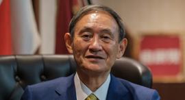 ראש ממשלת יפן החדש יושיהידה סוגה Yoshihide Suga