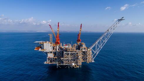 אסדת קידוח גז טבעי, צילום: אלבטרוס