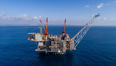 אסדת קידוח גז טבעי - לווייתן, צילום: אלבטרוס