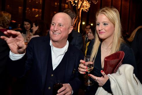 המיליארדר רונלד פרלמן ואשתו החמישית אנה צ