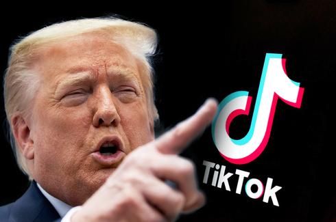 """נשיא ארה""""ב לשעבר דונלד טראמפ. הצווים שהוציא נגד טיקטוק בוטלו על ידי ג"""