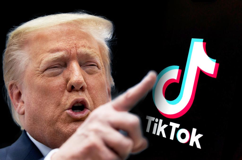 """נשיא ארה""""ב דונלד טראמפ טיקטוק"""