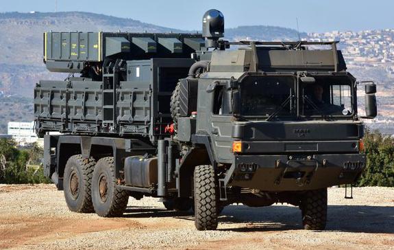 מערכת ה ספיידר Spider הישראלית להגנה אווירית 1
