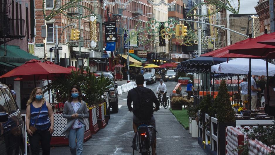 ראש עיריית ניו יורק: העיר תיפתח לחלוטין ב-1 ביולי