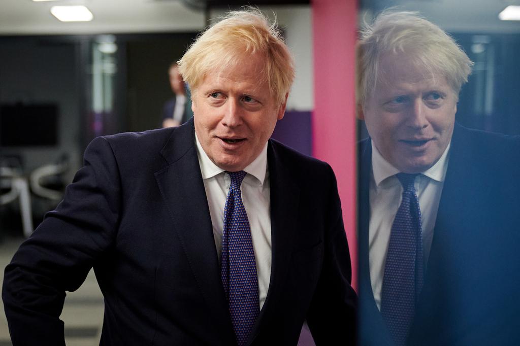 ראש ממשלת בריטניה בוריס ג'ונסון אוקטובר 2020