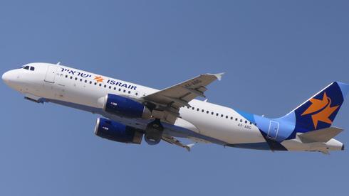 מטוס של ישראייר , צילום: דני שדה