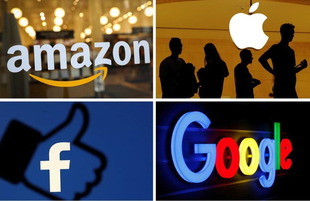 חברות טכנולוגיה גוגל פייסבוק אפל אמזון