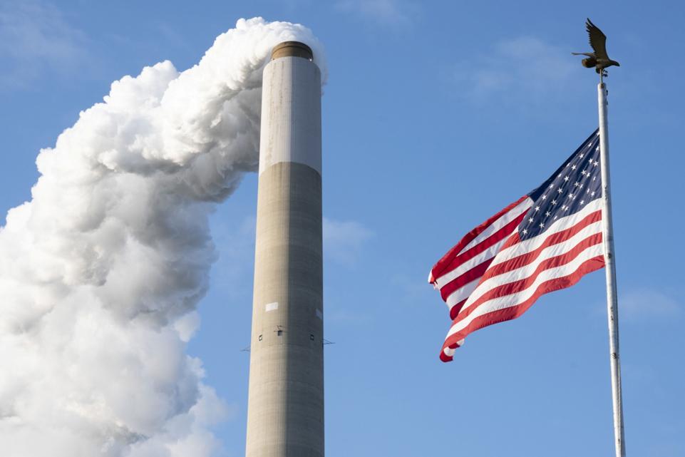 מנהטן ארובה זיהום אוויר  פליטת גזי חממה  עשן