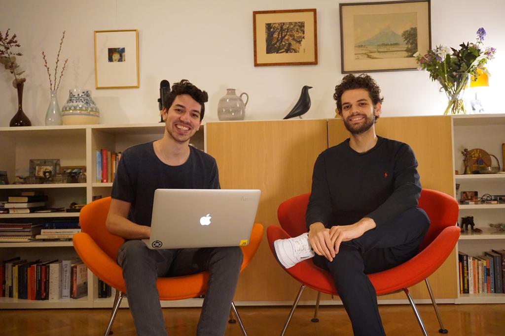 נדב ו גדעון קייסון חברת פודקאסט Riverside.fm