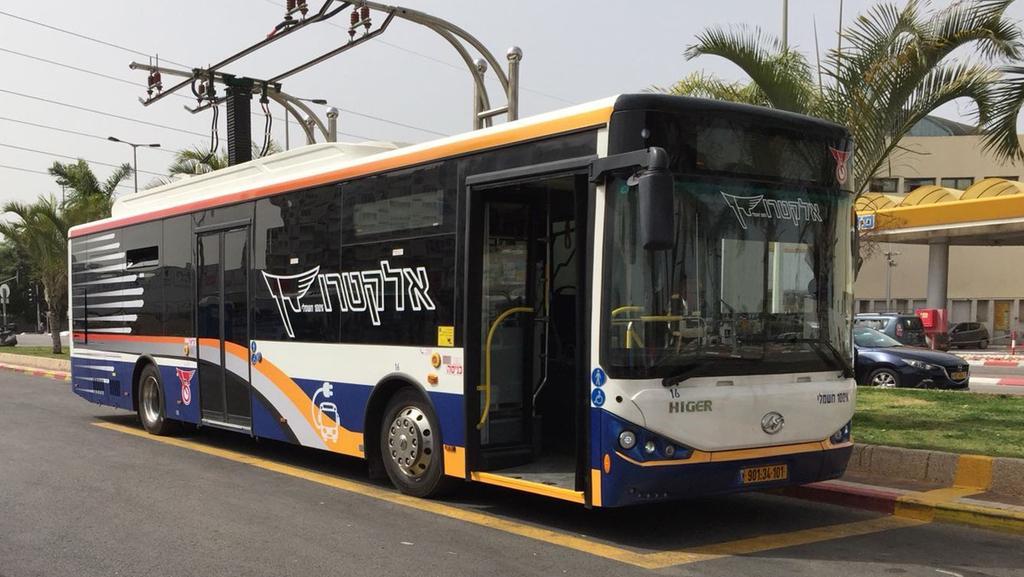 דן אוטובוס חשמלי תוצרת הייגר