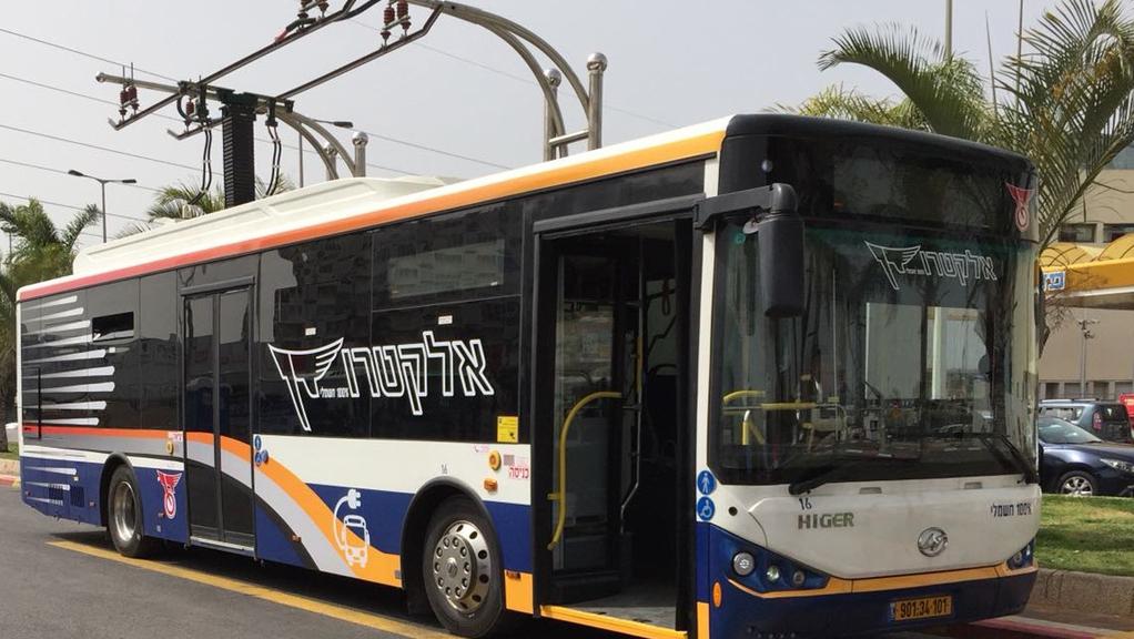 המשרד להגנת הסביבה מקצה 59 מיליון שקל לרכישת 220 אוטובוסים חשמליים