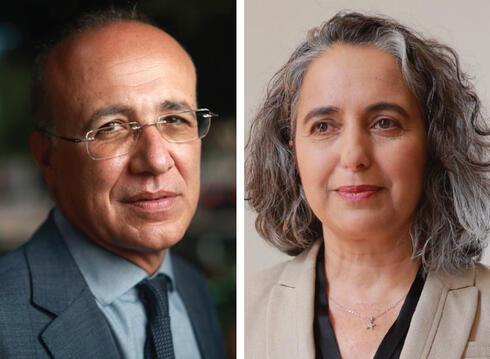 ענת גואטה ומשה ברקת, צילום: עמית שעל, אוראל כהן