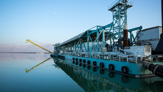 כיל איי.סי.אל ICL מחפר קציר מפעלי ים המלח