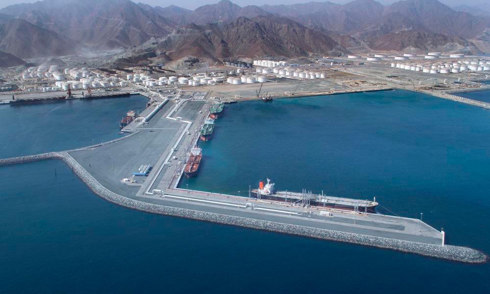 נמל פוג'יירה Fujairah  איחוד האמירויות