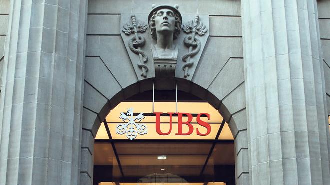 UBS בשווייץ, צילום: בלומברג