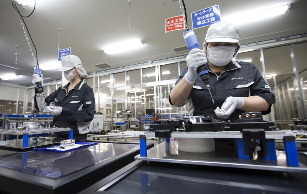 מפעל ייצור של פנסוניק ב טוצ'יגי יפן