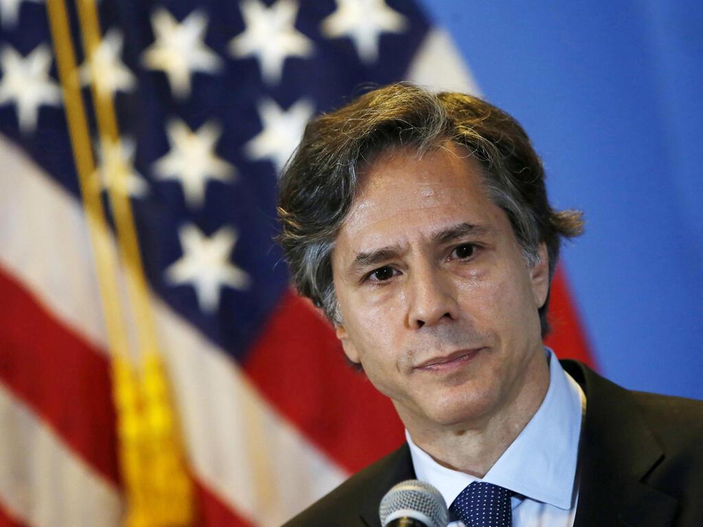 אנתוני בלינקן המועמד של ג'ו ביידן לתפקיד מזכיר המדינה האמריקאי
