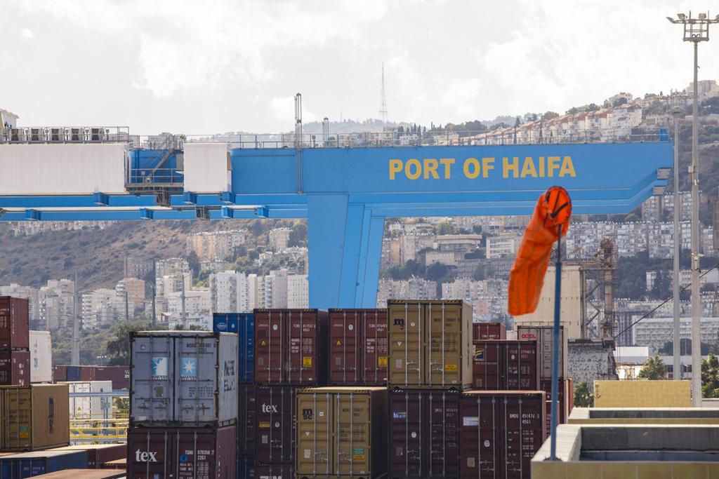 נמל חיפה מכולות הפרטה