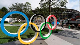 סמל ה אולימפיאדה טוקיו 2021, צילום: גטי אימג'ס