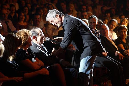 שלמה ארצי בהופעה, צילום: אוראל כהן