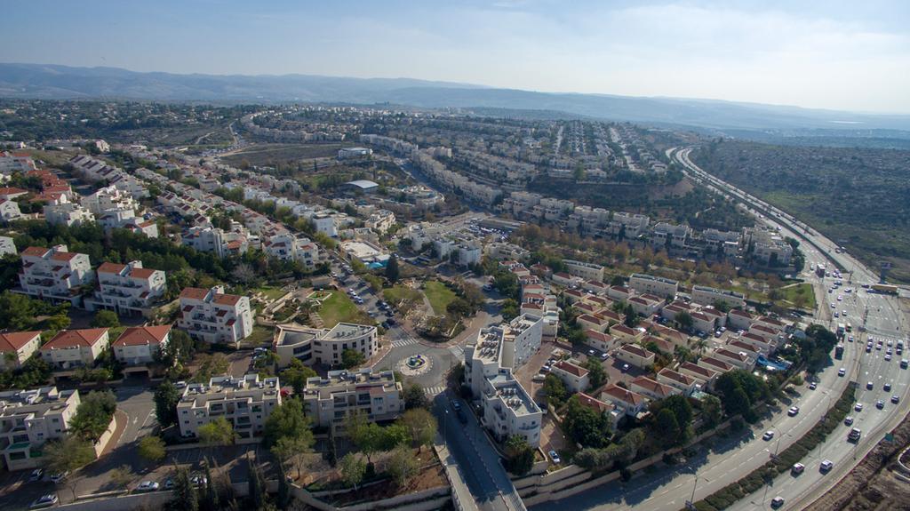 נוף העיר מודיעין זירת הנדלן