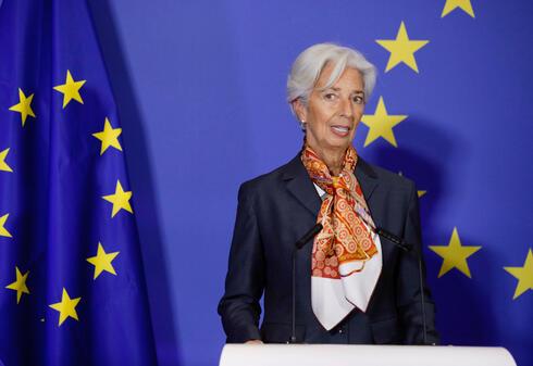 כריסטין לגארד נשיאת הבנק האירופי המרכזי ECB  , צילום: איי פי