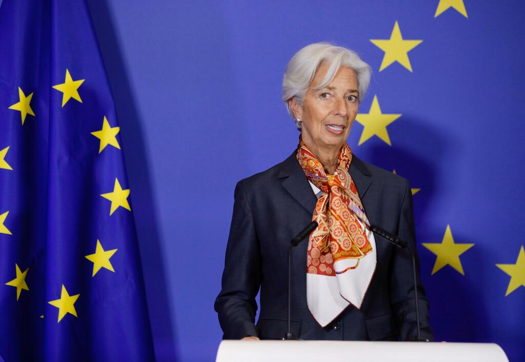 כריסטין לגארד נשיאת הבנק האירופי המרכזי ECB
