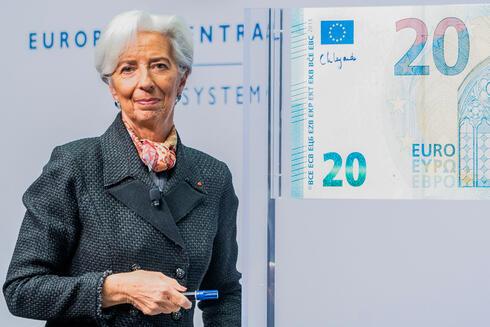 כריסטין לגארד נשיאת הבנק האירופי המרכזי. צמיחה ברבעון השני , צילום: בלומברג
